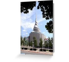 Temple of the Community of Christ, Independence, Missouri Greeting Card