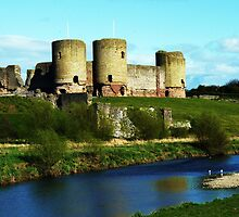 Rhuddlan Castle, by artfulvistas