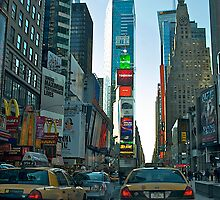 Times Square, New York City by Peggy  Woods Ryan