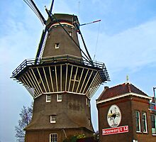 Dutch Windmill, Amsterdam by Al Bourassa