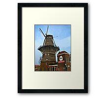 Dutch Windmill, Amsterdam Framed Print