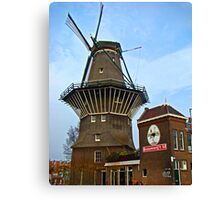 Dutch Windmill, Amsterdam Canvas Print