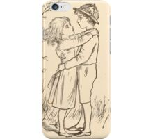 Five Mice in a Mouse Trap Laura Elisabeth Howe Richards and Kate Greenaway 1881 0216 A Dance iPhone Case/Skin
