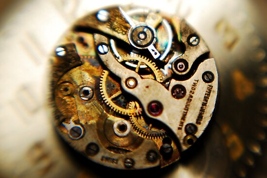 the magic inside the timepiece by Lynn McCann