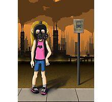 Toxic City Photographic Print