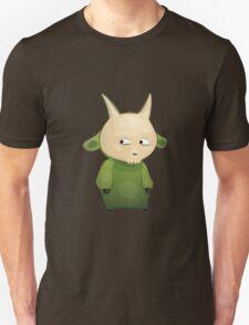 Funny cartoon goat Unisex T-Shirt