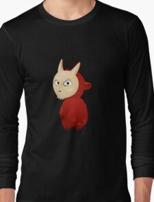 Funny cartoon goat Long Sleeve T-Shirt