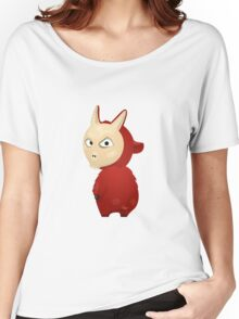 Funny cartoon goat Women's Relaxed Fit T-Shirt