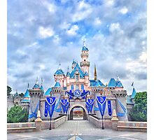 Disneyland 60th Anniversary Castle Photographic Print