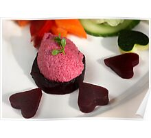 Beet Root Mousse  Poster
