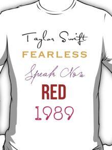 Taylor Swift albums T-Shirt