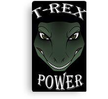 T-Rex Power Canvas Print