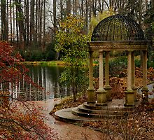 Peace by the Water - Longwood Gardens USA by John Griggs