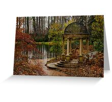 Peace by the Water - Longwood Gardens USA Greeting Card