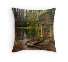 Peace by the Water - Longwood Gardens USA Throw Pillow