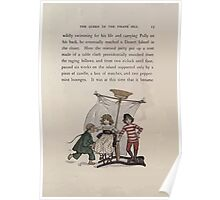 The Queen of Pirate Isle Bret Harte, Edmund Evans, Kate Greenaway 1886 0017 Pirate Ship Poster