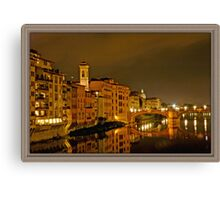 A Night in Firenze Canvas Print