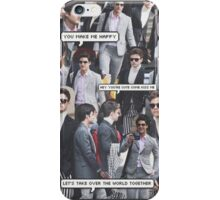 future klaine collage iPhone Case/Skin