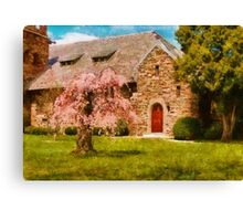 Church - Heaven Created Canvas Print