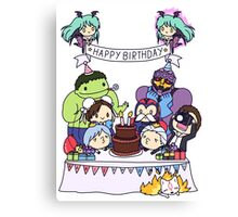 Happy Birthday!! Canvas Print
