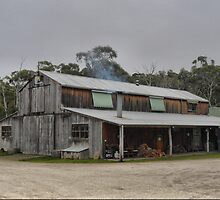 A Barn for Tasting by Larry Lingard-Davis