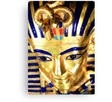 King Tutankhamun and ancient Egypt treasures Canvas Print