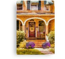 House - Visiting Grandma Canvas Print