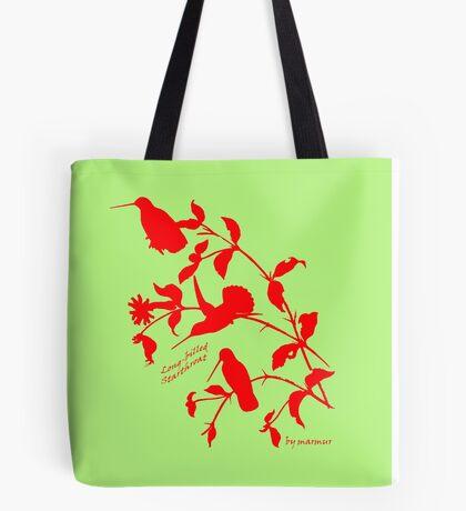 red long-billed starthroat Tote Bag