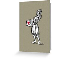 Boxed Heart - iPhone case Greeting Card