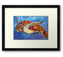 his domain Framed Print