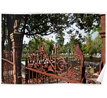 Gate At Journeys End Poster