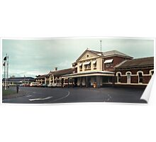 198208190002 Railway station Geraldton Poster