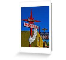 Stardust Motel III Greeting Card