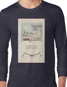 Mother Goose or the Old Nursery Rhymes by Kate Greenaway 1881 0019 Elsie Marley Grown so Fine Long Sleeve T-Shirt