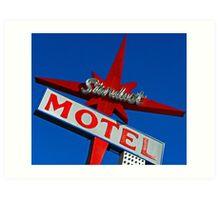 Stardust Motel V Art Print