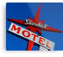 Stardust Motel V Metal Print