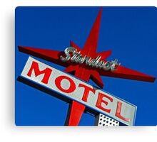 Stardust Motel V Canvas Print
