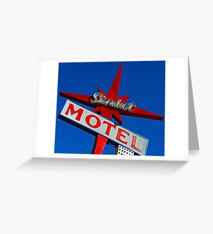 Stardust Motel V Greeting Card