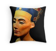 King Tutankhamun and ancient Egypt treasures Throw Pillow