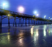 Night Pier by JGetsinger