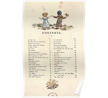 LIttle Ann and Other Poems by Jane and Ann Taylor art Kate Greenaway 1883 0010 Contents Poster