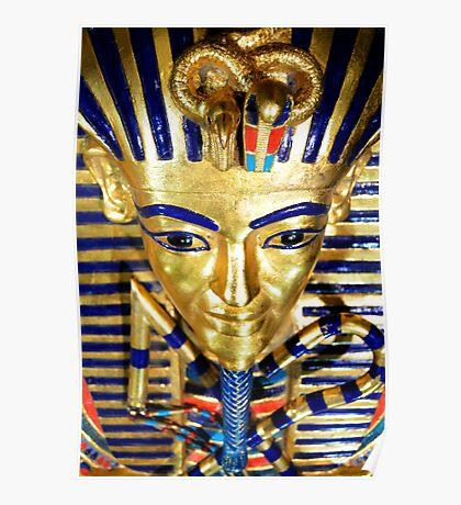 King Tutankhamun and ancient Egypt treasures Poster