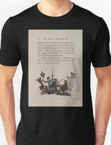 The Queen of Pirate Isle Bret Harte, Edmund Evans, Kate Greenaway 1886 0020 Fight Unisex T-Shirt