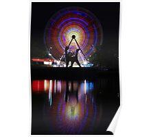 Circular Motion - Birrarung Marr, Melbourne Poster