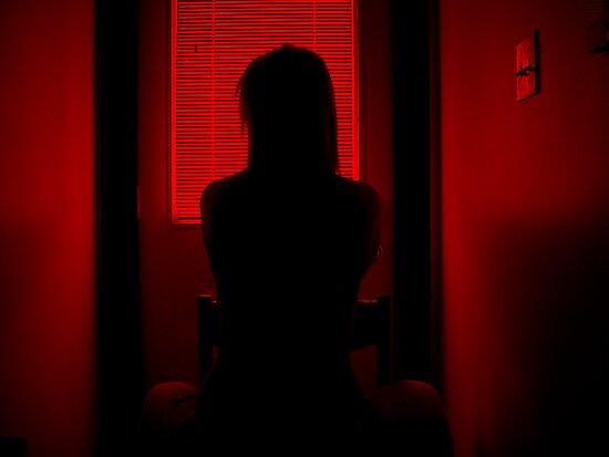 The Dark Room by Hunniebee