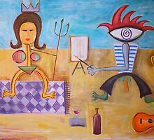 Mr Pablo Picasso by Jason Wenzel