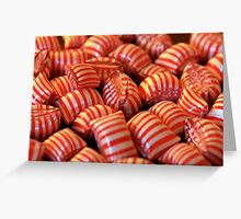 Peppermint Candy Greeting Card