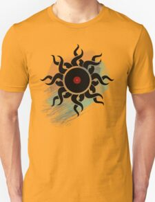 Retro Vinyl Records - Vinyl With Paint - Music DJ Design T-Shirt