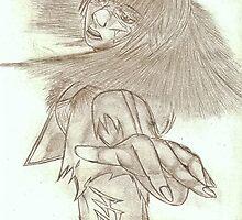 The Blind Warrior by Viqqe