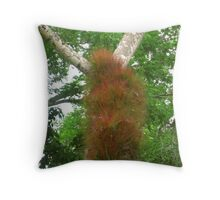 Only Mother Nature Knows For Sure!! Throw Pillow